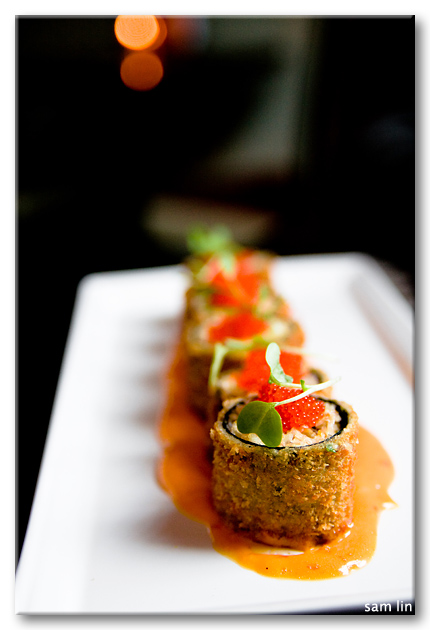 Panko Fried Dungeness Crab Roll