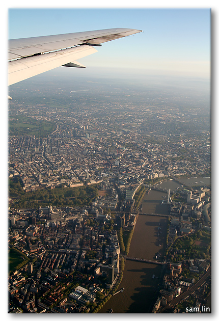 Thames River from Sky