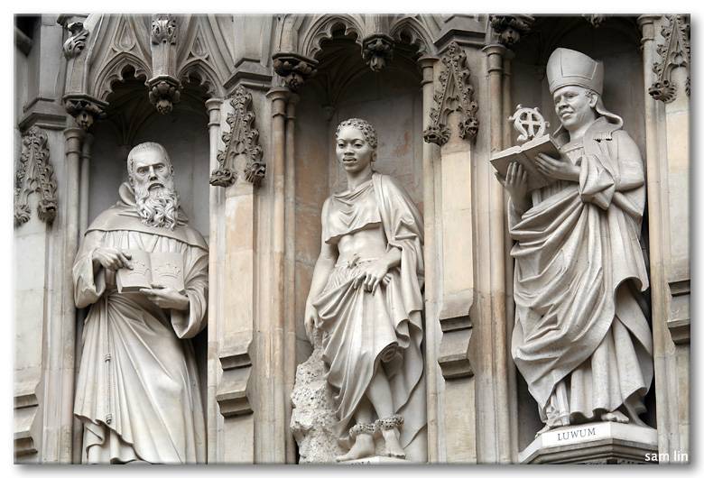 Westminster Abbey sculptures