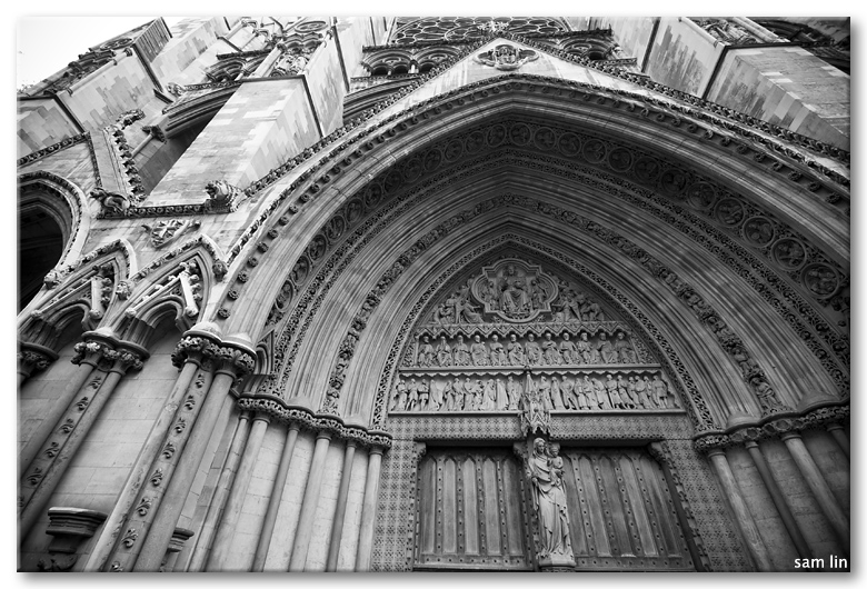 Westminster Abbey entrance