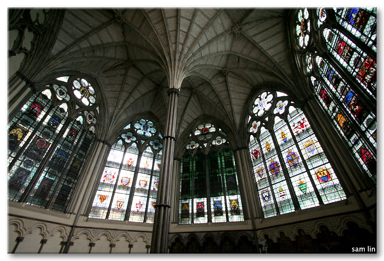 The Chapter House, Westminster Abbey