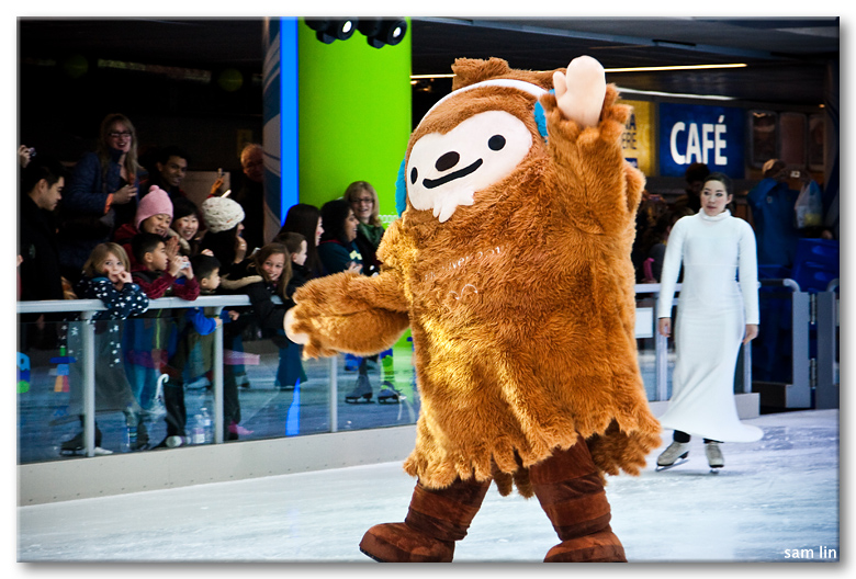Quatchi on Ice
