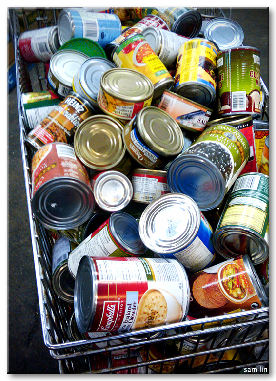 Food Bank Cans