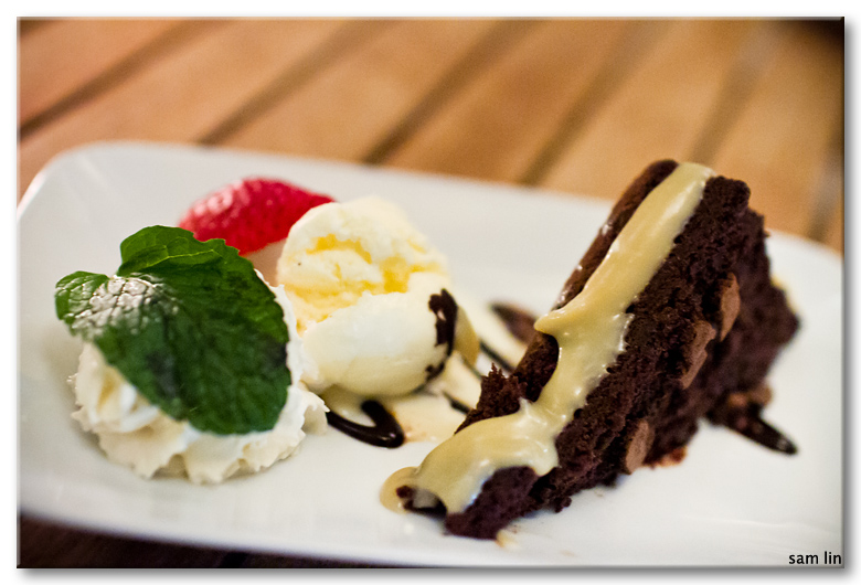 Molten Chocolate Brownie