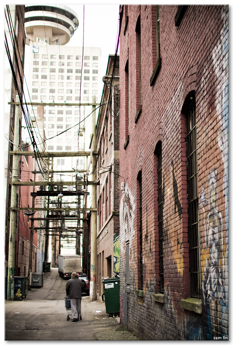Vancouver Downtown Alleyway
