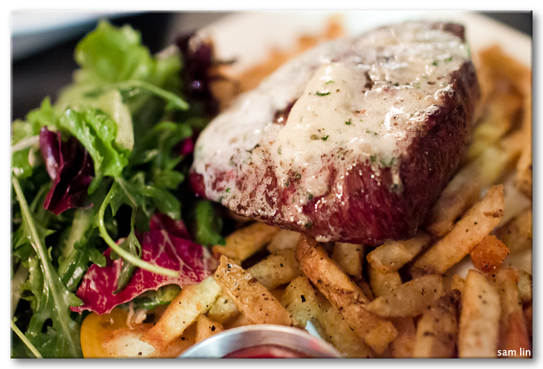 Sterling Silver Steak & Frites